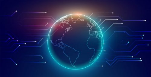 world connected by sdwan technology